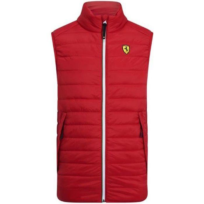 Doudoune sans manche Ferrari Scuderia Officiel Team Puma F1