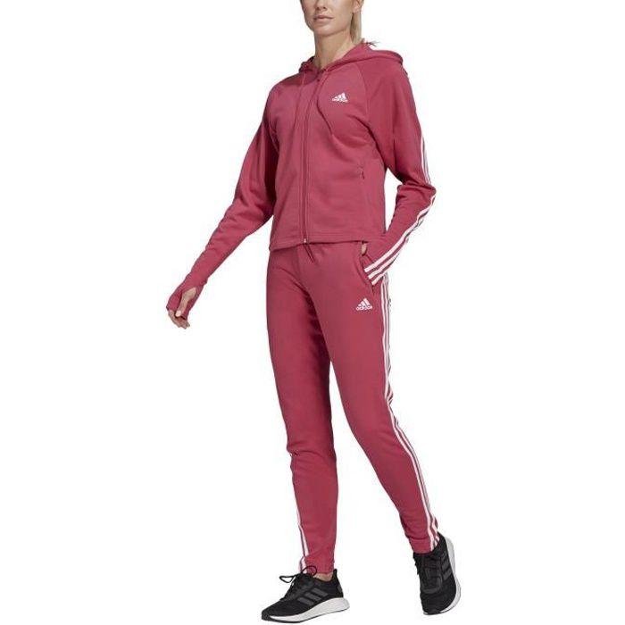 Adidas Survêtement pour Femme Sportswear Slim Fleece Rose