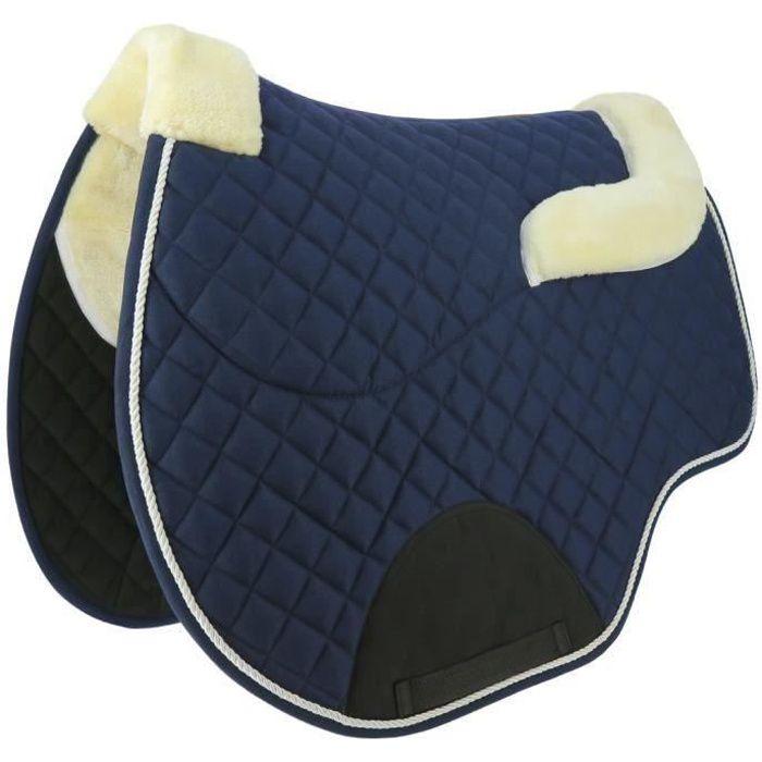Tapis/amortisseur NORTON -Confort- - Couleur : marine, Taille : cheval