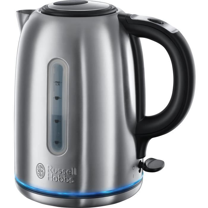Russell Hobbs 20460-70 Bouilloire 1,7L Buckingham, Silencieuse, Rapide, Filtre Anti-Calcaire Amovible
