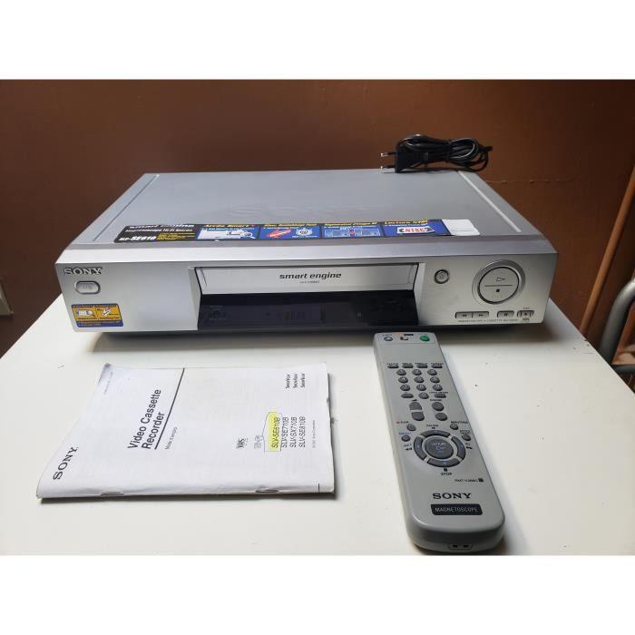 MAGNETOSCOPE SLV-SE610 6 TETES HIFI STEREO LECTEUR ENREGISTREUR K7 CASSETTE VIDEO VHS VCR HIFI + TEL