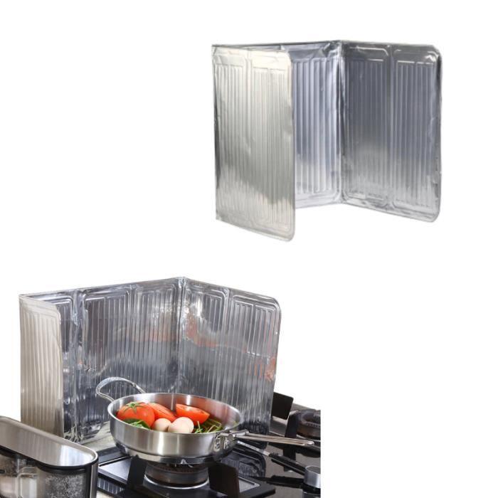 CACHE PLAQUE DE CUISINE Cuisine Poêle Foil Plaque Prevent huile Splash Acc