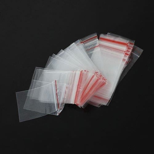 100 pochettes zip 7 x 5 cm achat vente sachet plastique cdiscount. Black Bedroom Furniture Sets. Home Design Ideas