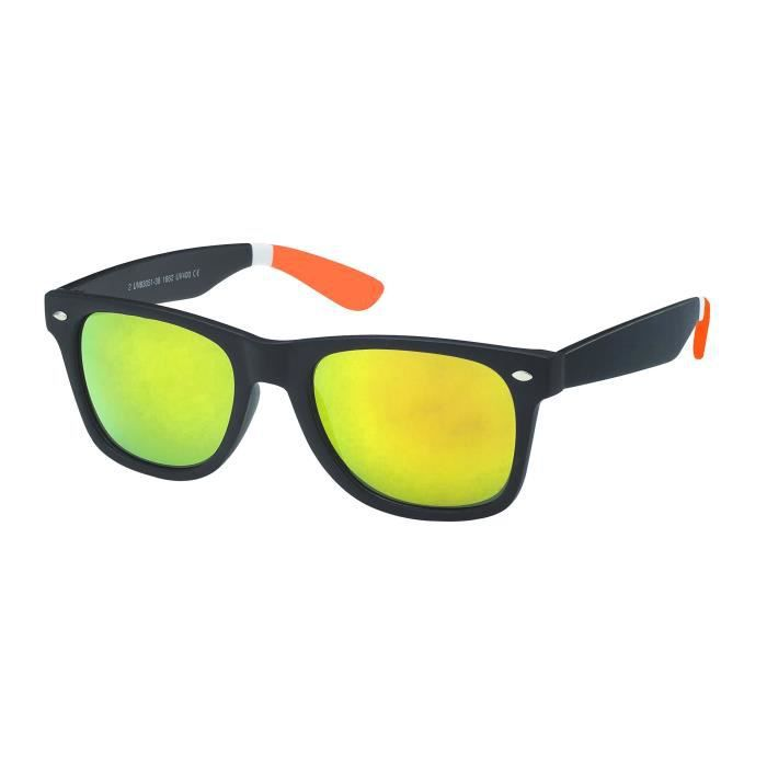 Lunettes slim branches bicolores 3080 branches ORANGE k85sDx47I