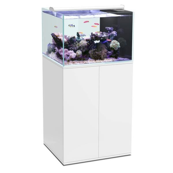 Aqua meuble ultra clear sw 100 blanc achat vente for Meuble aquarium 100 x 30