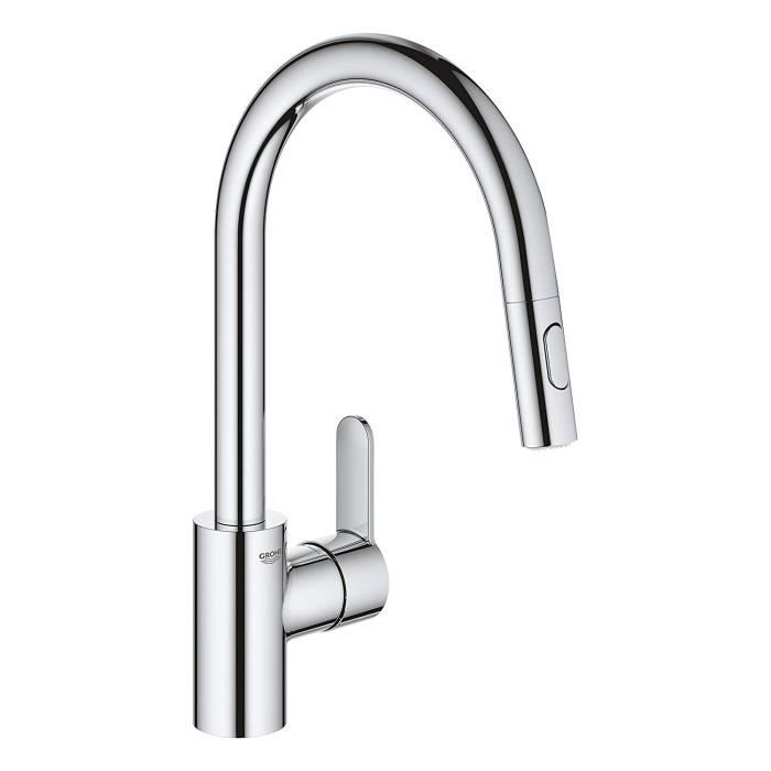 Grohe 31482003 Mitigeur Evier Avec Douchette Extractible