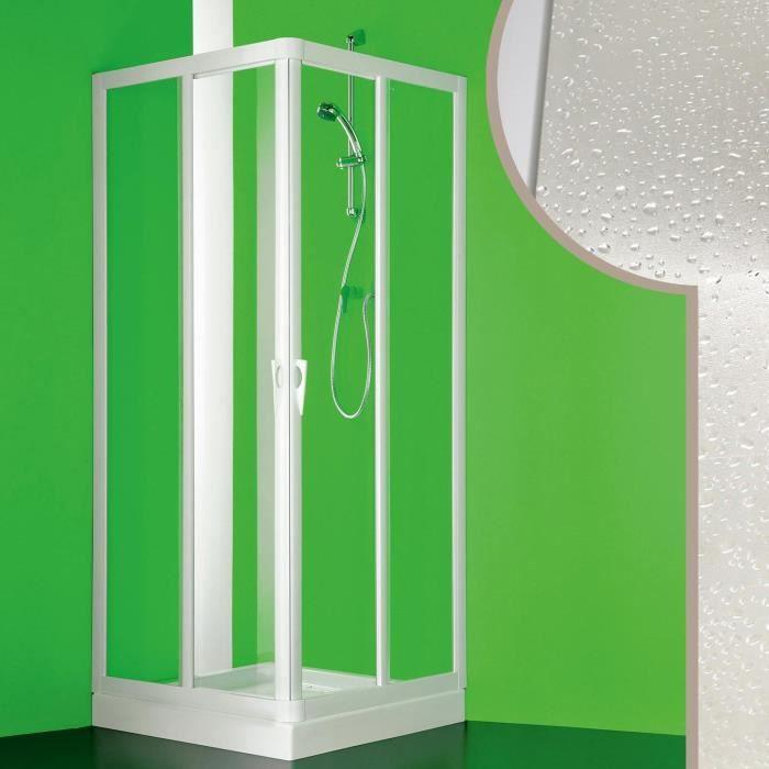 Venere avec ouverture centrale Cabine douche 90x90CM en acrylique mod