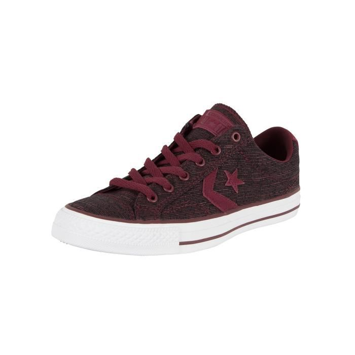 BASKET Converse Homme Star Player OX Formateurs, Rouge