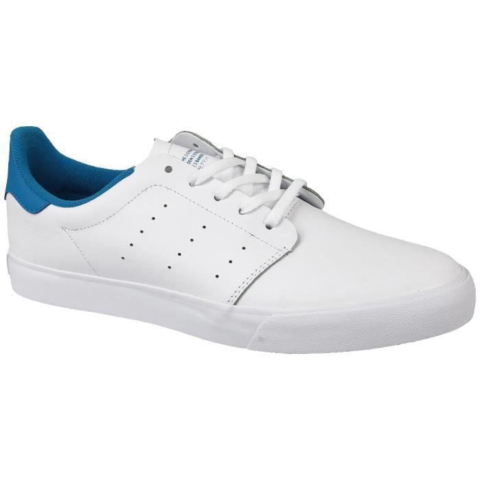 Adidas Seeley Court BB8587 Homme Baskets Blanc,Bleu Blanc,bleu ...