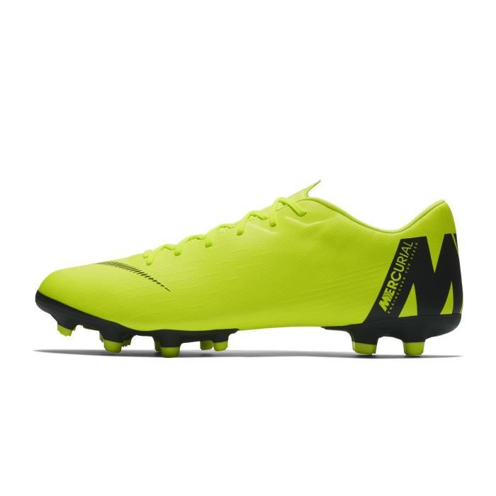 c32d3f82c6 Chaussures football Nike Mercurial Vapor XII Academy MG Jaune - Prix ...