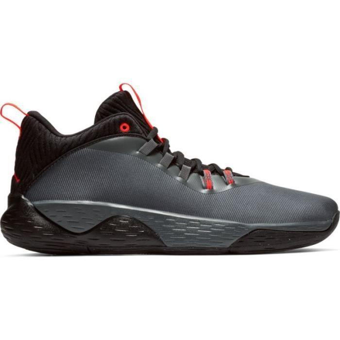 Chaussure de Basketball Jordan Super.Fly MVP Low Gris pour homme