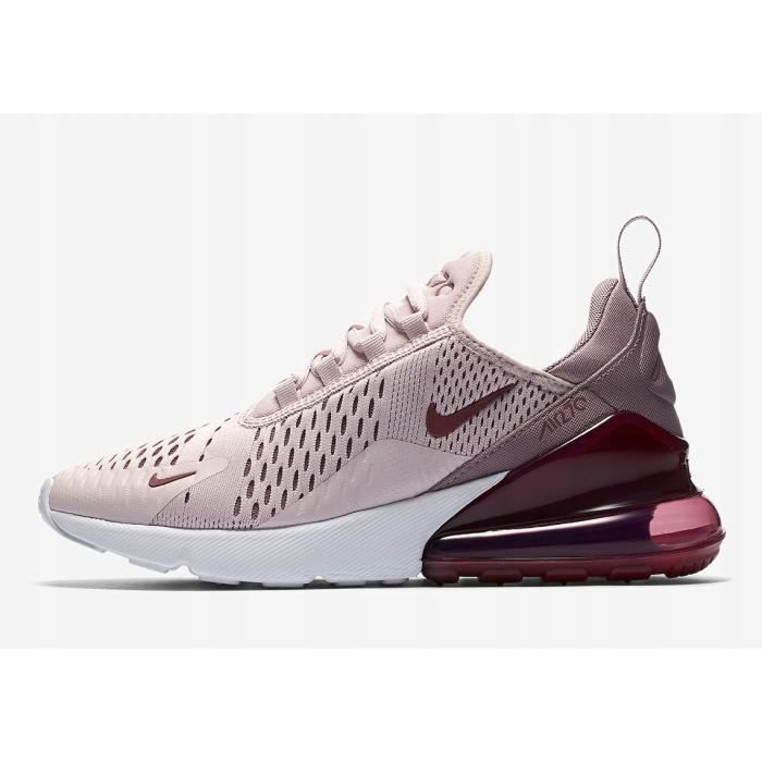 grossiste 5b862 46b9c Baskets Nike Air Max 270 Chaussures de running pour Femme Rose
