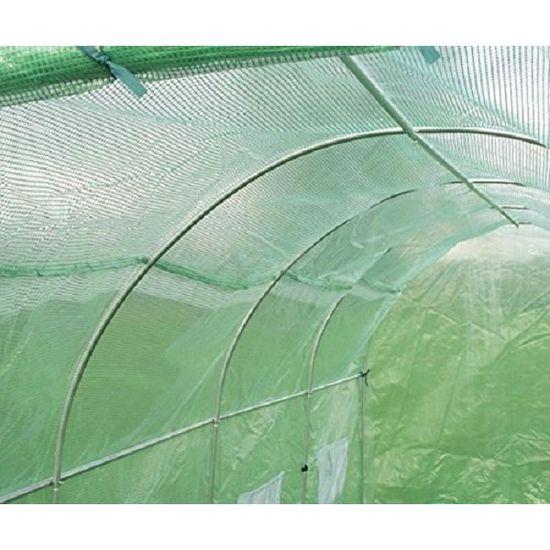 2.5m x 2m Primrose Serre Tunnel en Polyethyl/ène Renforc/é