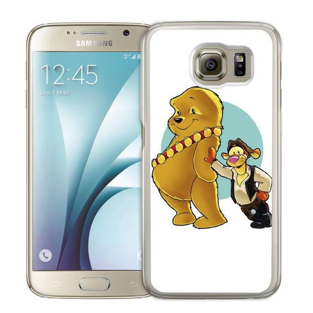 Coque Samsung Galaxy S6 : Winnie Star Wars