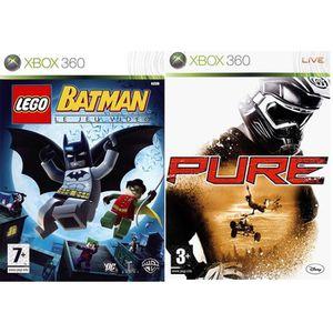 JEU XBOX 360 Jeux Lego Batman et Pure Jeu XBOX 360