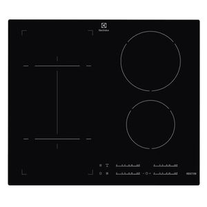 ELECTROLUX EHSI6540 -Table de cuisson induction-4 zones-7400W-L59 x P52cm-Rev?tement verre-Noir