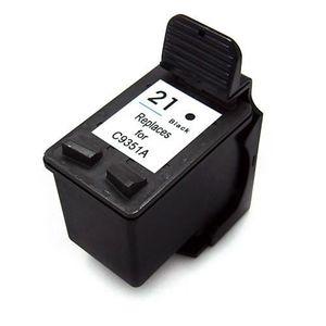 CARTOUCHE IMPRIMANTE Cartouche d'encre compatible HP 21 xl C9351A noir