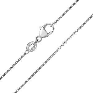 CHAINE DE COU SEULE Chaine Entrelacée Femme Platine 950 950 - 51cm 357