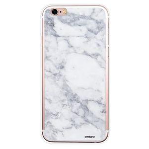 coque effet marbre blanc pour iphone 6 6s g03530