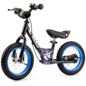 DRAISIENNE Enkeeo Draisienne 12 pouces Sport Balance Vélo Con