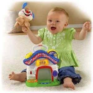PELUCHE Puppy Apprentissage Mobile…