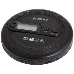 RADIO CD ENFANT Groov-E GVPS210 Noir Retro Personal Cd Walkman Lec