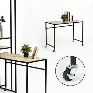 BUREAU  Table d'ordinateur portable Table de Lit à Roulett