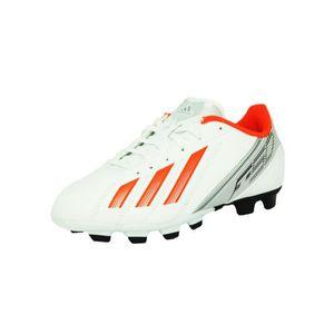 Adidas F5 TRX FG J Chaussures Football Enfant Blan Blanc