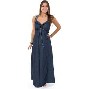 ROBE Fantazia - Robe ethnique longue - Robe longue jean