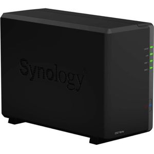 SERVEUR STOCKAGE - NAS  SYNOLOGY Serveur NAS 2 baies DS218play
