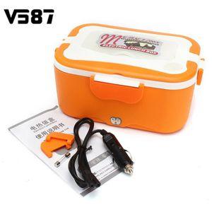 LUNCH BOX - BENTO  TEMPSA Orange 12V Boîte À Repas Déjeuner Chauffant
