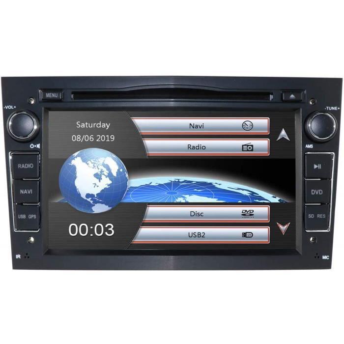 Hizpo 7 Pouces Autoradio Double Din Autoradio Au Dash pour Opel Corsa Vectra Astra Soutien Commande Au Volant GPS Navigation 2507