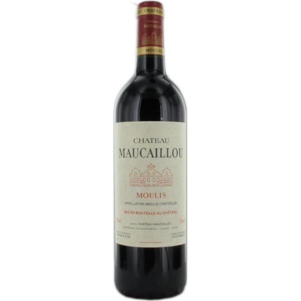 Château MAUCAILLOU 2014 - MOULIS - 75 cl