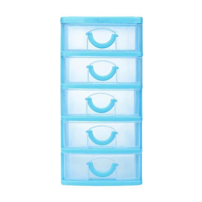 BOITE DE RANGEMENT - BAC DE RANGEMENT Divers accessoires de bureau en plastique durable pour tiroir de bureau, petits objets