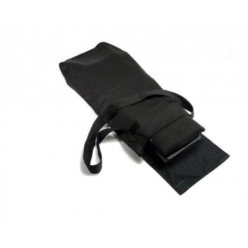 Banc de méditation pliable et son sac de transport Noir