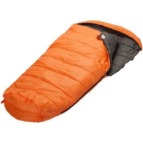 Skandika Vegas Sac de couchage zip côté gauche Orange XXL 220 x 110 cm