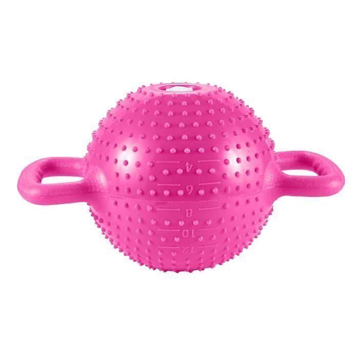 1 pc Kettlebell Rempli D'eau Durable Antidérapant Portable Bouilloire Bell Yoga Fournitures Haltère BARRE - HALTERE - POIDS