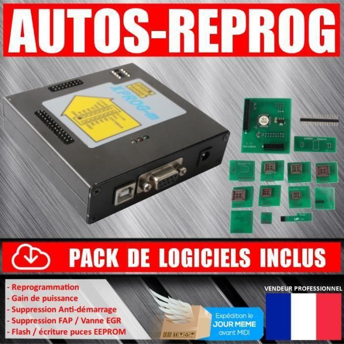 XPROG V5.50 - Interface de Reprogrammation - MPPS - GALLETTO - KESS - KTAG - BDM