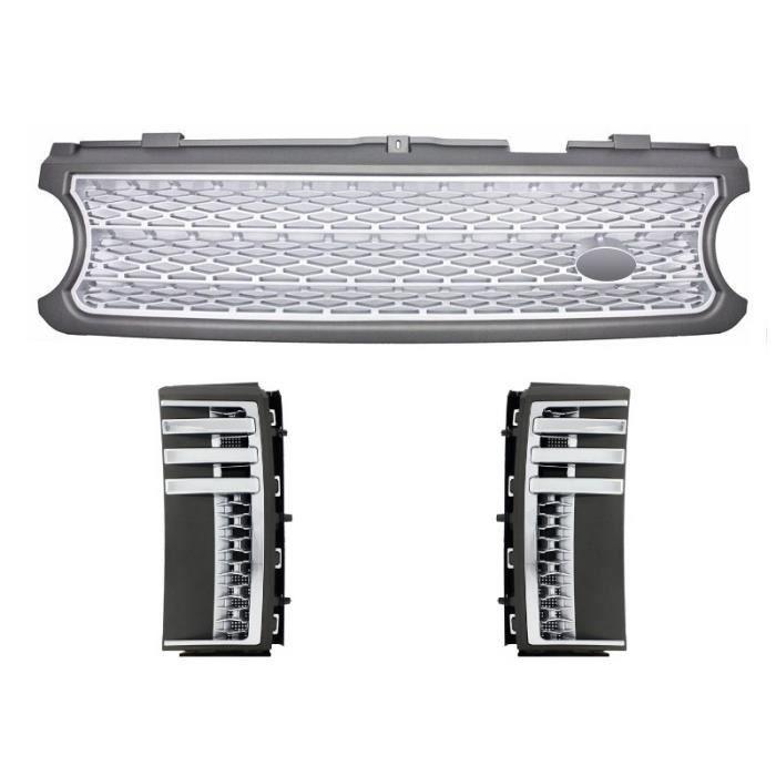 Grille d'évents latéraux Supercharged & Autobiography Design Pour Range Rover Vogue III 3 L322 06-09
