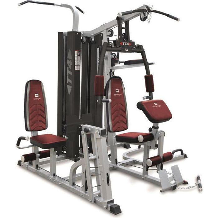 Appareil de musculation. 15 exercices différents- 4 postes. TT4 G159
