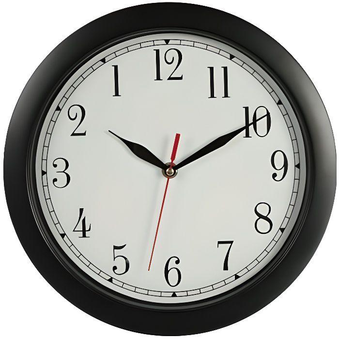Horloge à lenvers.