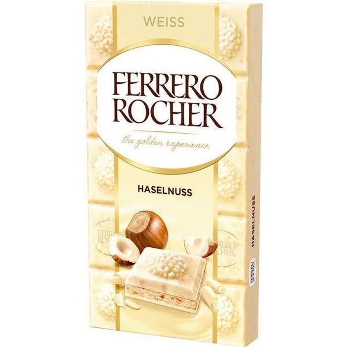 Ferrero Rocher Noisette chocolat blanc 90g (Pack de 8)