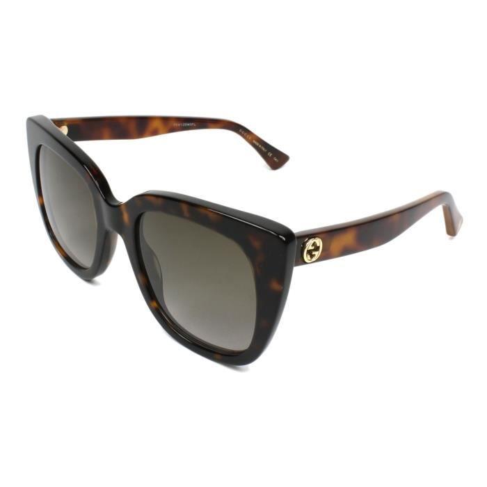 Lunettes de soleil Gucci GG-0163-S -002