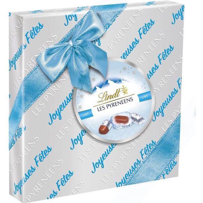 LINDT Boîte Cadeau Les Pyrénéens L'Original Lait - 204 g