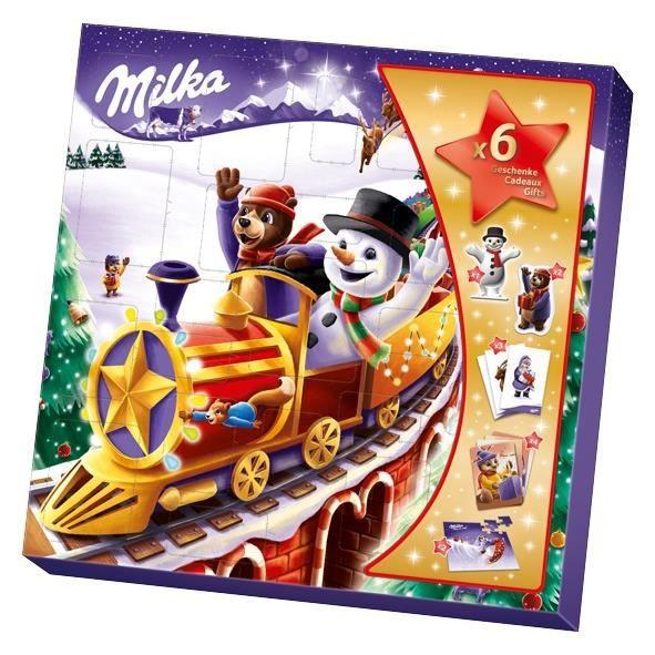 Milka Amis de Noël Calendrier de l'Avent 143g