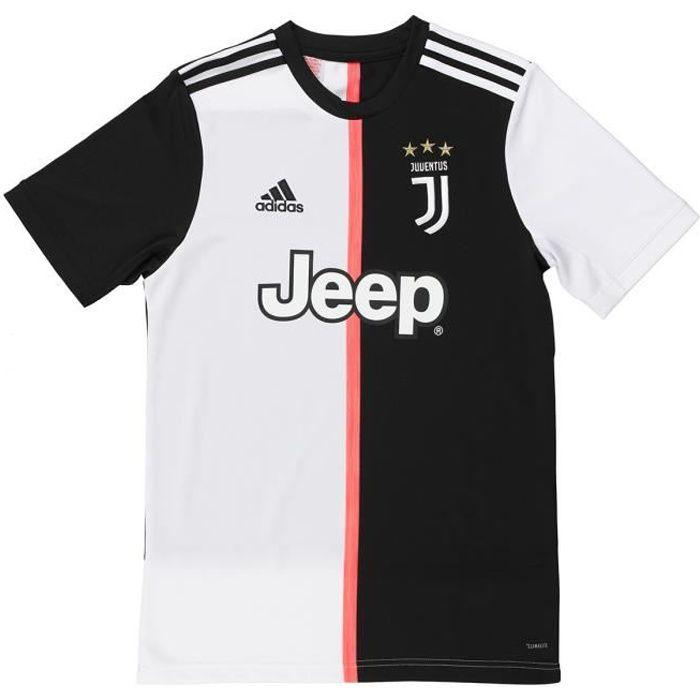 ADIDAS PERFORMANCE Maillot de Football JUVE H JSY Y - Enfant - Noir/Blanc