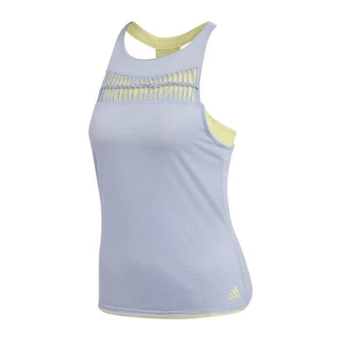 adidas ML Femmes Débardeur tennis bleu