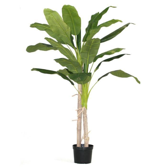 Arbre artificiel Bananier - Arbre Tropical - Hauteur 180 cm