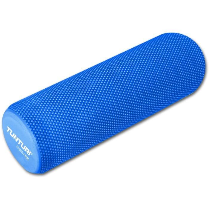 TUNTURI Rouleau de massage yoga 40cm EVA bleu