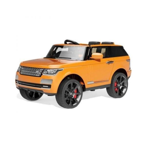 voiture lectrique 2 places 12v range rover vogue orange achat vente voiture enfant cdiscount. Black Bedroom Furniture Sets. Home Design Ideas